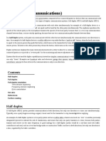 Duplex (Telecommunications)