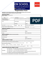 LSAF - Registration Form