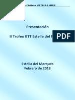 2018-02-11 Presentacion a Patrocinadores - II Trofeo BTT Estella Del Marqués v1.0