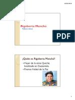 Rigo Berta Menchu