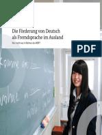 Foerderung Deutsch Als Fremdsprache Im Ausland