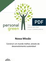 Bem-vindo à Personal Green!