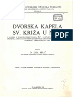 Luka Jelić - Dvorska Kapela Sv. Križa u Ninu