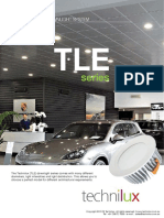 TLE Series LED Downlight System in Australia by Lighting Technology