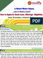 Pradhan Mantri Mudra Yojana, What is Mudra Loan?