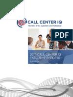 Call Center Intellegence