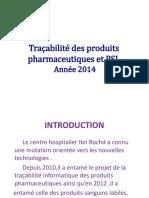 Bilan Cpoie Traçabilité Anne 2014 L.pptx 2014 WORLD