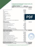 Informe Financiero ANPA, Enero 2018