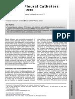 Cateter Pleural Tunelizado - TIPCs