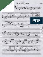 Debussy Parodi 1ra Arabesque