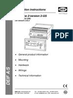 GPU 2 Manual de Instalación