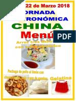 Cartel Jornada China Castellano 22-3-18 Sf