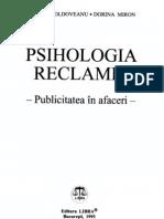 Psihologia Reclamei - tea in Afaceri - Maria Scholz Dorina Miron