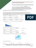 Evaluacion Math 1°per 2017, de 9, 10 y 11
