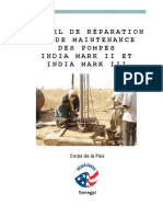 Peace Corps Manuel de Reparation Et de Maintenance Des Pompes India Mark II Et India Mark III 2012