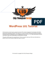 CTD Wordpress 101