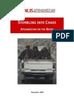 Afghanistan on the Brink