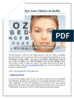 Top 10 Eye Care Clinics in Delhi - Lazoi.com