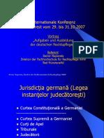 20071119Formarea Functionarilor Judiciari in Germania