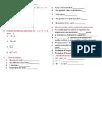 Evaluation Algebra