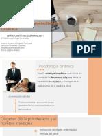 CLASE 1 Arqueología de La Psicoterapia Dinámica Copia