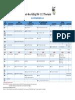 antrobus riding club - timetable 2018 2