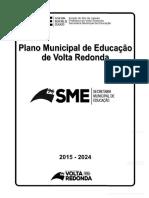 Plano municipal de educação de volta redonda