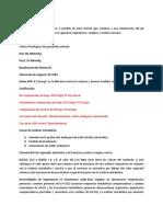 Acidosis Metabolica y Respiratoria RESUMEN