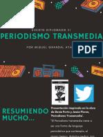 Periodismo Transmedia