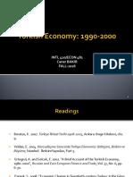 Turkish Economy 1990-2000.ppt