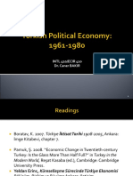Turkish Political Economy 1961-1980 Updated.ppt