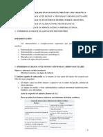 PRIMEROS AUXILIOS EN PATOLOGÍA ORGÁNICA DE URGENCIA.