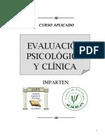 Curso. Evaluación Psicológica y Clínica