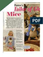 Crochet- Beatrix Potter Sweater & Mice