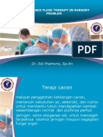 Maintenance Fluid Therapy in Surgery
