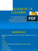 Semiologiadelsistemaosteoarticular Columna ppt
