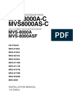 Mvs 8000a c Installation Manual