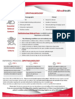 Ophthalmology Referral Guidelines