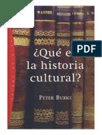 Que Es La Historia Cultural
