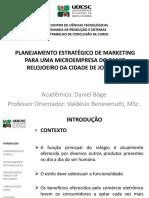 Apresentação TCC - Marketing