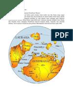 Teori Pembentukan Relief Bumi