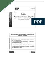 Sesion 2, Marco Conceptual Para La Preparación y Presentación EEFF -NIC 1