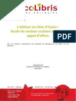 rapport Edition CI SMarill, Edition en Côte D'ivoire