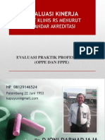 DR JHONI - Evaluasi Kinerja Staf Klinis