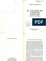 El Teatro de Tadeuz Kantor