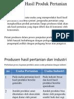Produsen Hasil Produk Pertanian