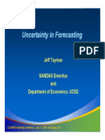 Uncertainty in Forecasting