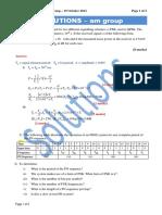 EBU5302 Calss Test 2 Solutions - Am Group
