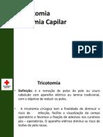 7ª Aula Tricotomia. Glicemia Capilar