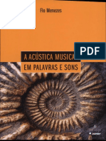 A Acustica Musical Em Palavras e Sons - Flo Menezes